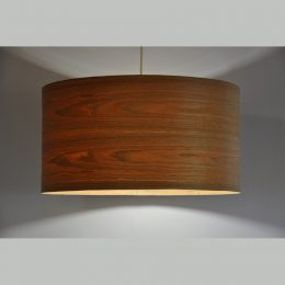 Bamboo or Oak Veneer Shade by Joug Design