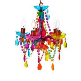 Chandelier gypsy multi coloured