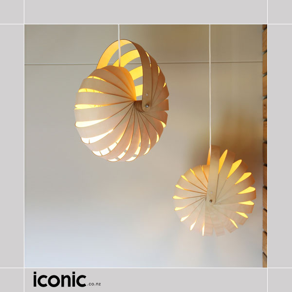Nautilus hanging lamp shade by rebecca asquith iconic lamps and lights 2833d 2833c 2833b aloadofball Images