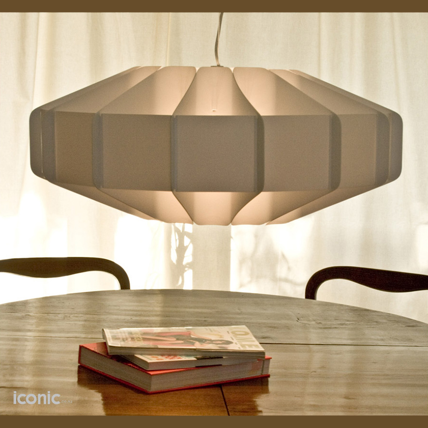 Alien light white iconic nz design art objects for Iconic design lamps