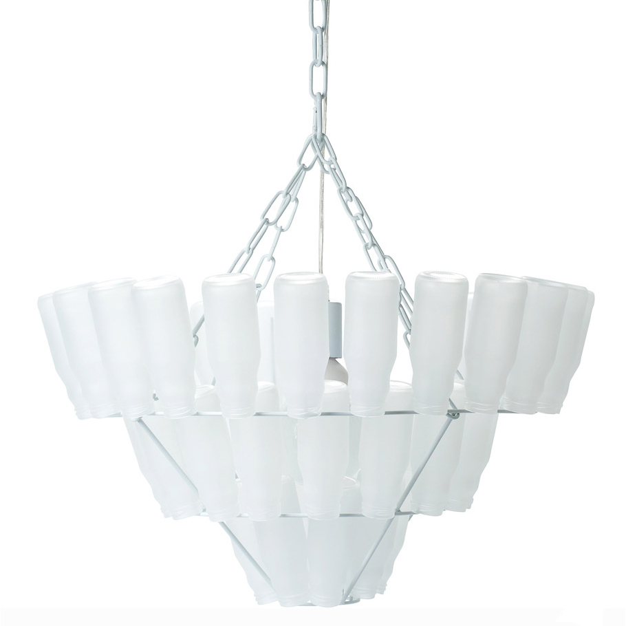 Chandelier bottled frosted large from leitmotiv iconic nz design 3220c 3220b 3220 arubaitofo Image collections