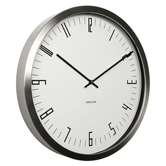 Stylish Wall Clock By Box 32 Design For Karlsson Iconic