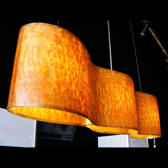 infinity pendant light by James Russ from Epsilon Lighting