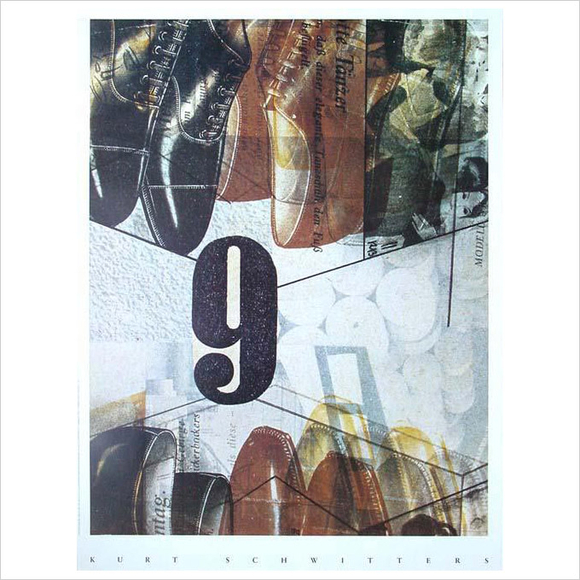 Kurt Schwitters - Collage 9