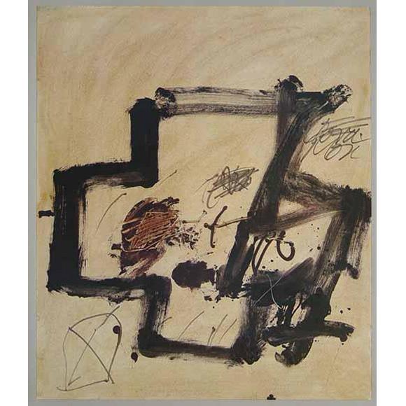 Antoni Tapies - Komposition