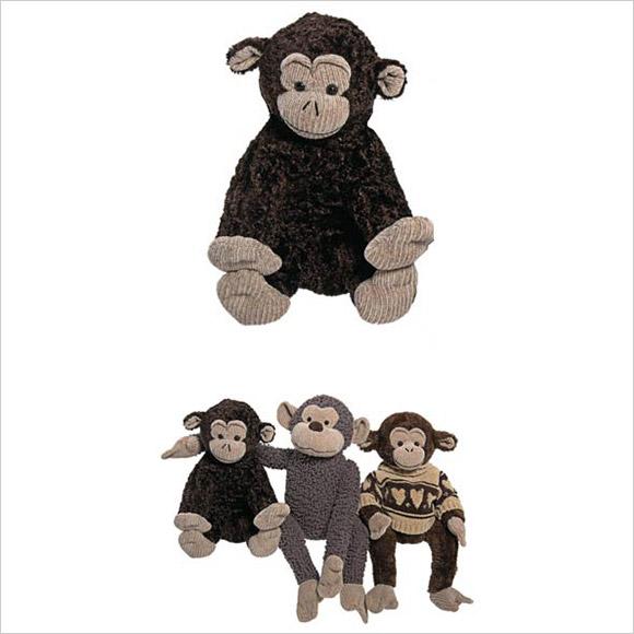 Toy Monkey - Chenille