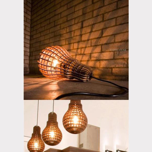 Wooden Bulb - light by Suckuk