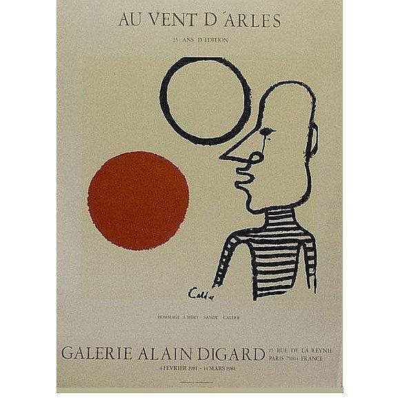 Calder, Au vent d'Arles. year 1981