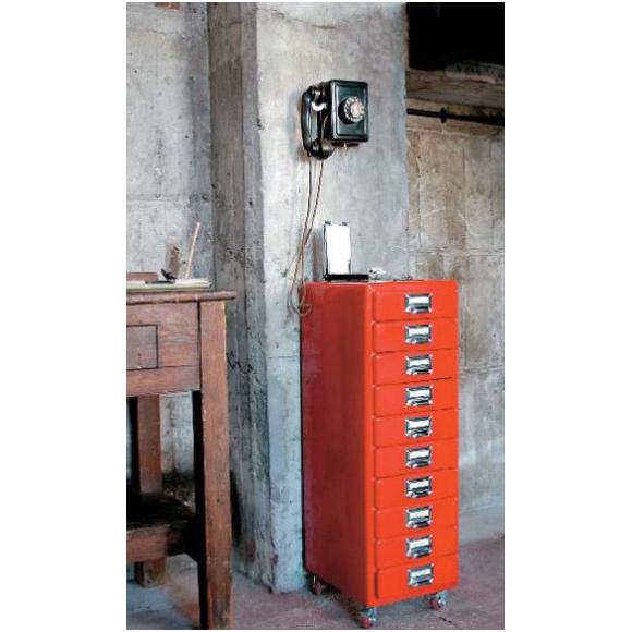Dulton Steel Powder Coated Cabinet