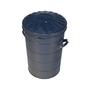 60 L galvanised bin
