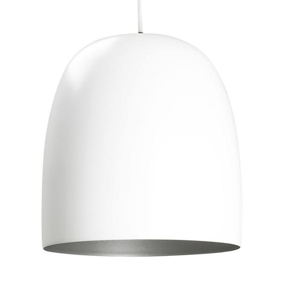 Kalimero matt white pendant lamp