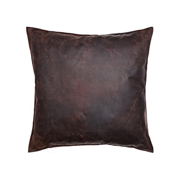 NZ Leather Cushion