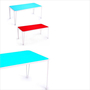 Table or stackable shelves