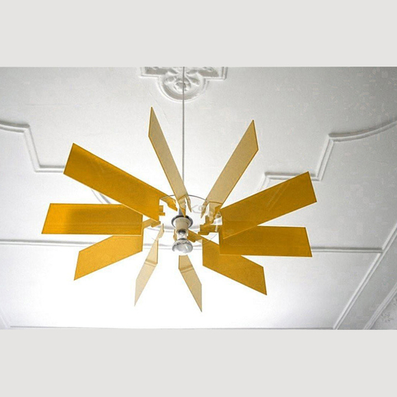 Acrylic glass lampshade