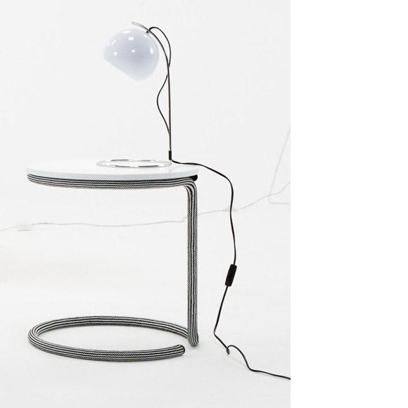 Table Rope black & white