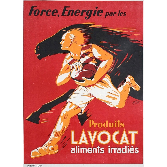 Original 1940s/50s French Poster