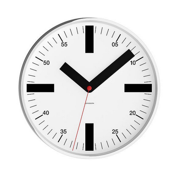 Jonsson Wall clock Station & Numbers