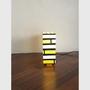 Roberto Tenace Italian Box Shaped Table Lamp