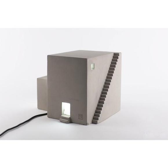 Archilamp Cube Concrete Lamp