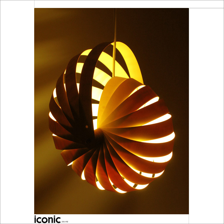Nautilus Hanging Lamp Shade By Rebecca Asquith Iconic Lamps And Lights