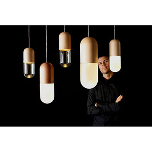 Pil Pendant Lamp Small by Tim Wigmore of Design Tree