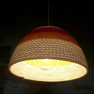 Sunset lampshade by Ron Crummer