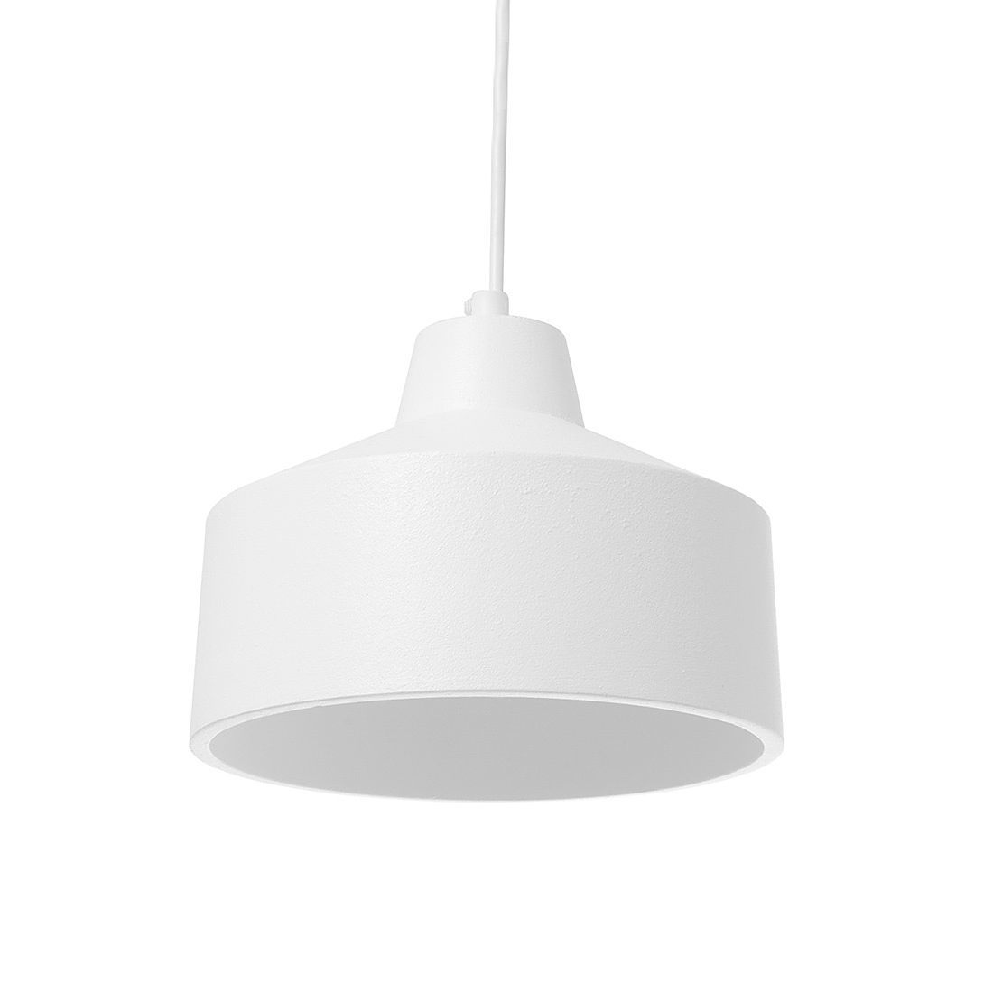 Minimalist White Pendant Lamp By Jonathan Sabine