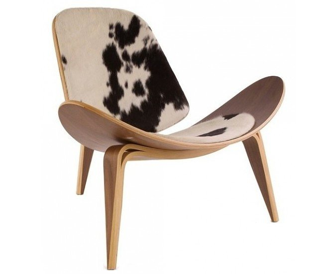 Hans J. Wegner Style Shell Chair ...  sc 1 st  iconic.co.nz & Reproduction Shell Style Chair - Iconic NZ Design; Art u0026 Objects ...