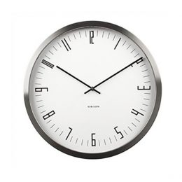 Karlsson Cased Index Wall Clock