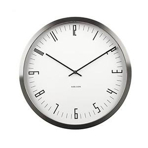 Karlsson Cased Index Wall Clock